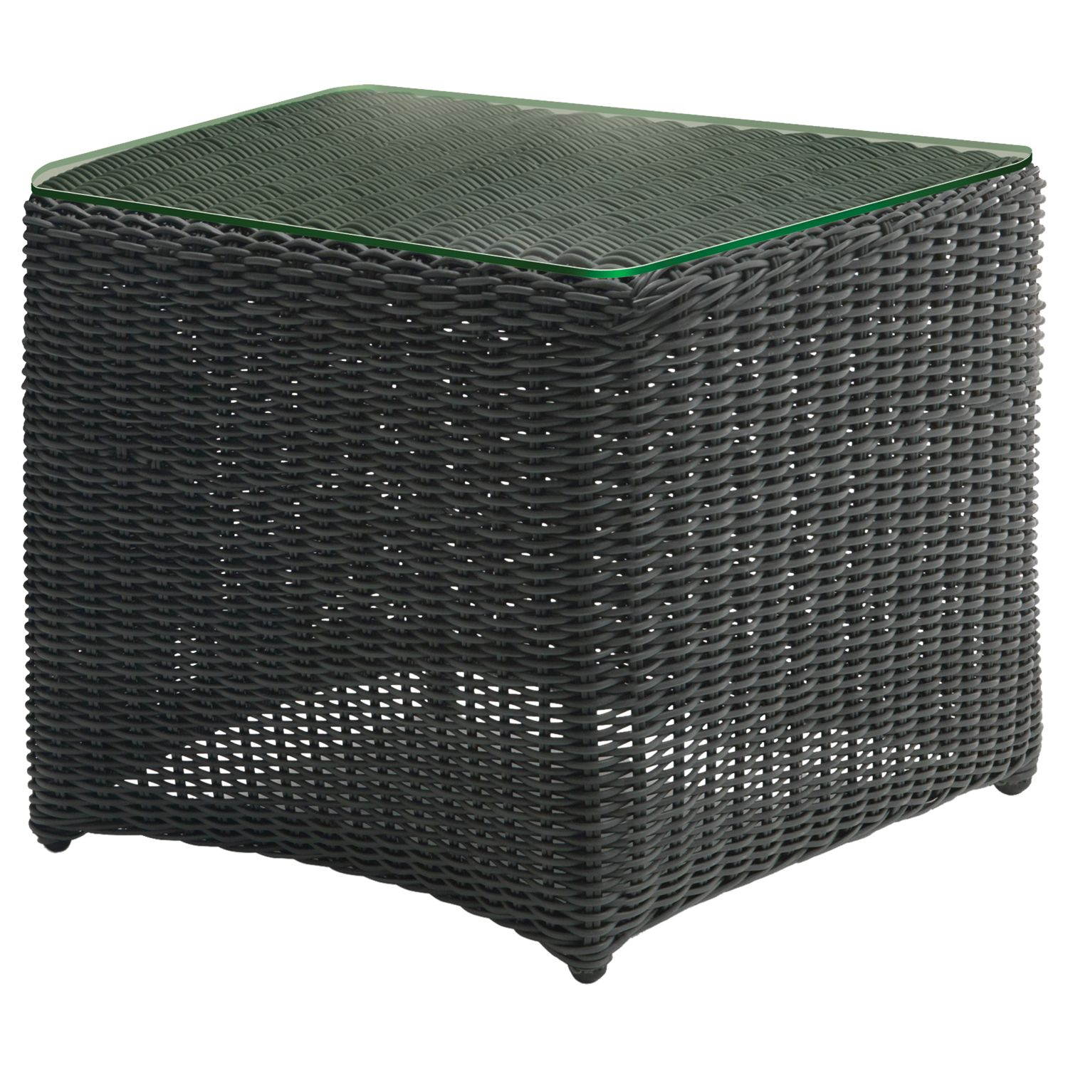 Kettler Weave Side Table, Rattan