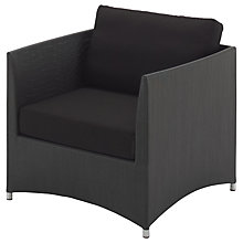 Buy Gloster Casa Outdoor Lounge Armchair Online at johnlewis.com