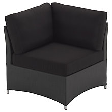 Buy Gloster Casa Outdoor Sofa Corner Unit Online at johnlewis.com