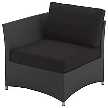 Buy Gloster Casa Outdoor Sofa End Unit Online at johnlewis.com