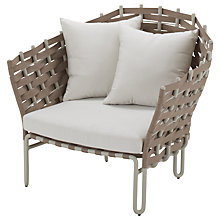 Buy Gloster Source Outdoor Lounge Armchair Online at johnlewis.com