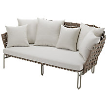 Buy Gloster Source Outdoor Relaxer Sofa Online at johnlewis.com