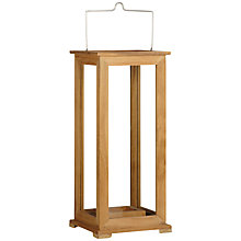 Buy John Lewis Leckford Lantern, H50cm Online at johnlewis.com