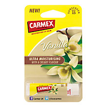 Buy Carmex Ultra Moisturising Vanilla Stick, 4.5g Online at johnlewis.com