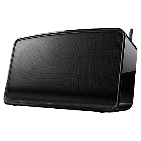 Buy Pioneer A1 Compact Wireless Speaker with Apple AirPlay & HTC Connect, Black Online at johnlewis.com