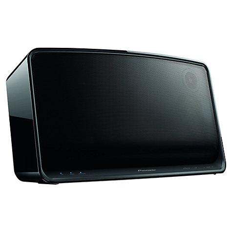Buy Pioneer A4 Wireless Speaker with Apple AirPlay & HTC Connect, Black Online at johnlewis.com