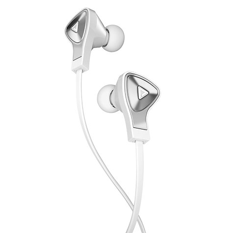 Buy Monster DNA In-Ear Headphones with ControlTalk, White Online at johnlewis.com