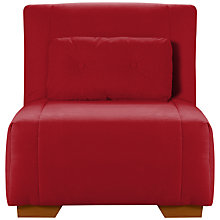 Buy John Lewis Strauss Chair Bed, Mason Coastal Red Online at johnlewis.com
