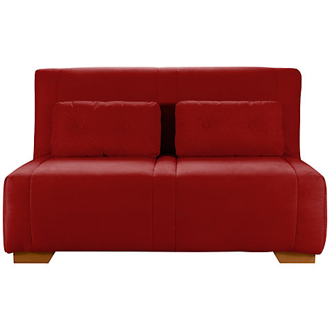 Buy John Lewis Strauss Large Sofa Bed, Mason Coastal Red Online at johnlewis.com