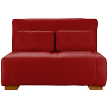 Buy John Lewis Strauss Small Sofa Bed, Mason Coastal Red Online at johnlewis.com