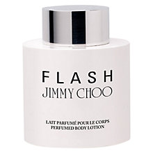 Buy Jimmy Choo Flash Perfumed Body Lotion, 200ml Online at johnlewis.com