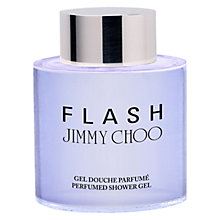Buy Jimmy Choo Flash Perfumed Shower Gel, 200ml Online at johnlewis.com