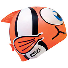 Buy Zoggs Easy Fit Junior Goldfish Character Cap Online at johnlewis.com