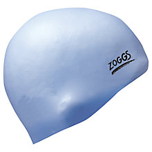 Buy Zoggs Easy Fit Swimming Cap, Lilac Online at johnlewis.com