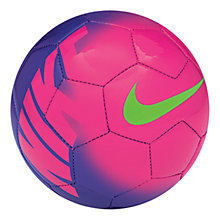 Buy Nike Mercurial Fade Mini Skills Football, Purple/Pink Online at johnlewis.com
