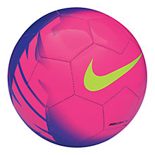 Buy Nike Mercurial Fade Football, Purple/Pink Online at johnlewis.com