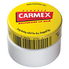 Buy Carmex Lip Balm Pot, 7.5g Online at johnlewis.com