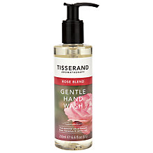 Buy Tisserand Rose Blend Gentle Hand Wash, 200ml Online at johnlewis.com