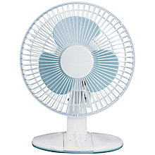 Buy NSA'UK DF-2331 White Desk Fan, 9 Inch Online at johnlewis.com