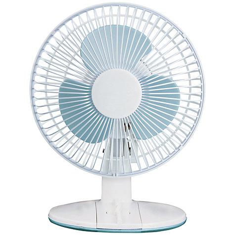 Buy Nsa Uk Df 2331 White Desk Fan 9 Inch John Lewis