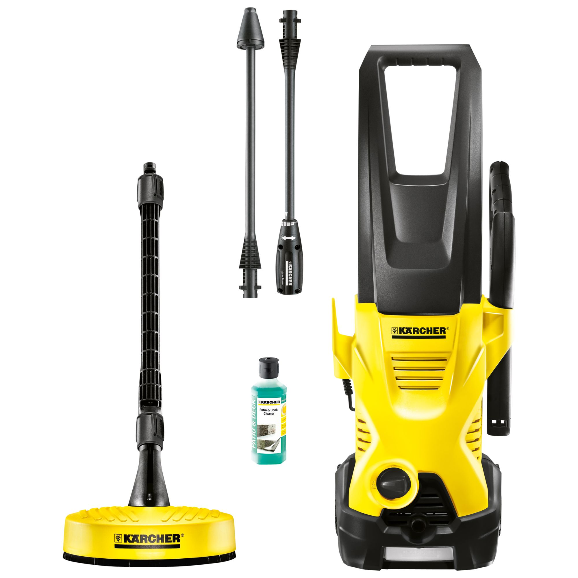 Karcher K2 Premium Home High Pressure Washer (Yellow)
