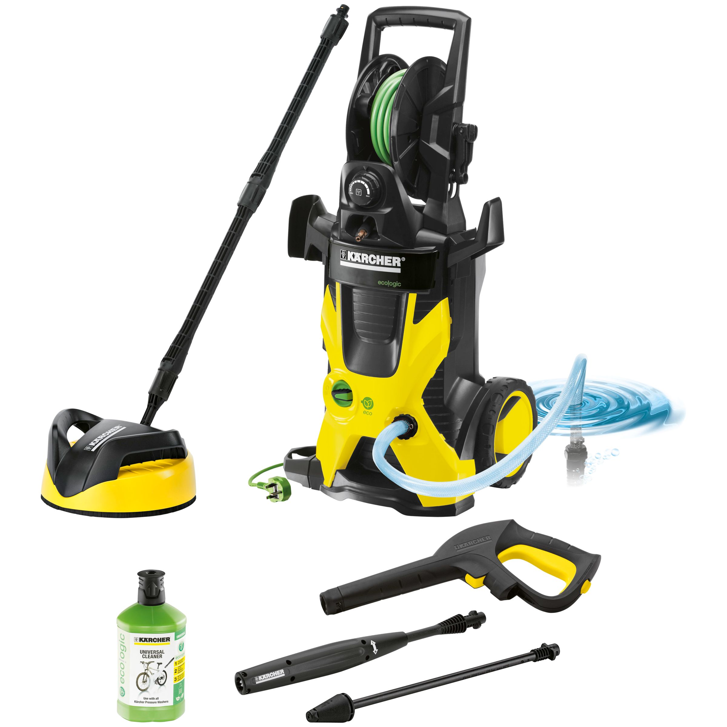 Kärcher K5 Premium Eco!logic Home Pressure Washer