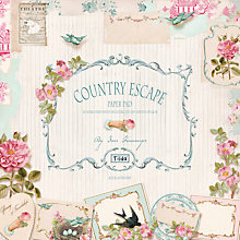 Buy Tilda Country Escape Paper Pad, Pack of 24 Online at johnlewis.com