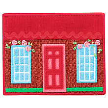 Buy Cath Kidston Cottage Needle Case with Needles, Red Online at johnlewis.com