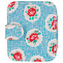 Cath Kidstone Lattice Rose Travel Sewing Kit, Blue
