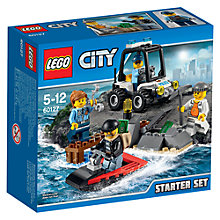 Buy LEGO City 60127 Prison Island Starter Set Online at johnlewis.com