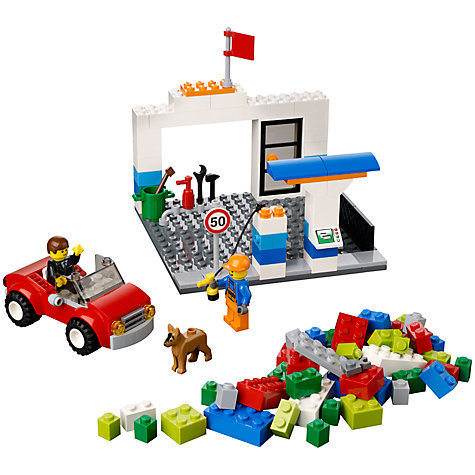 Buy LEGO Young Builders Suitcase, Blue Online at johnlewis.com
