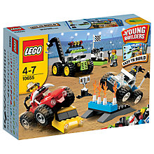 Buy LEGO Young Builders Monster Trucks Online at johnlewis.com