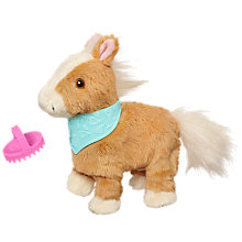 Buy FurReal Friends Snuggimal Walkin' Pony, Assorted Online at johnlewis.com
