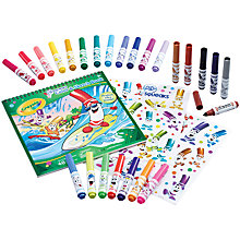 Buy Crayola Pip-Squeaks Washable Markers and Stickers Set Online at johnlewis.com