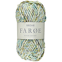 Buy Sirdar Faroe Super Chunky Yarn, 50g Online at johnlewis.com