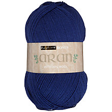 Buy Sirdar Hayfield Bonus Wool Aran Yarn, 400g Online at johnlewis.com