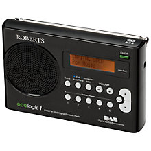 Buy ROBERTS Ecologic 1 DAB/FM Digital Radio Online at johnlewis.com