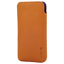 Buy Knomo Slim Case for iPhone 5, Tan Online at johnlewis.com