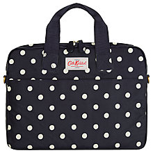 "Buy Cath Kidston Navy Spot Laptop Case 13-15"" Online at johnlewis.com"