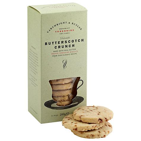 Buy Cartwright & Butler Butterscotch Crunch, 200g Online at johnlewis.com