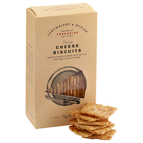 Buy Cartwright & Butler Cheese Biscuits, 75g Online at johnlewis.com