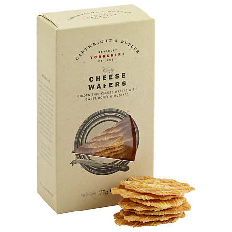 Buy Cartwright & Butler Cheese Wafers, 75g Online at johnlewis.com