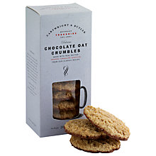 Buy Cartwright & Butler Oat Chocolate Crumbles, 200g Online at johnlewis.com