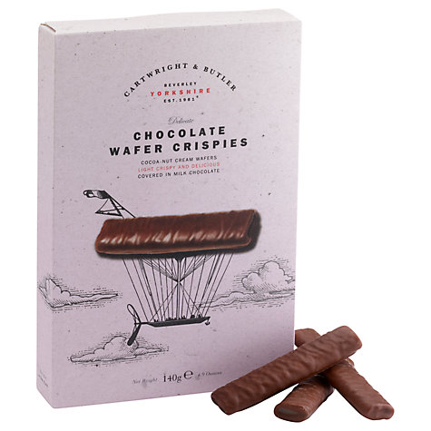 Buy Cartwright & Butler Chocolate Wafer Crispies, 140g Online at johnlewis.com