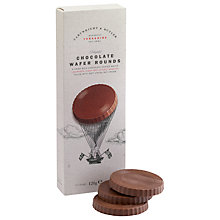 Buy Cartwright & Butler Chocolate Wafer Rounds, 120g Online at johnlewis.com