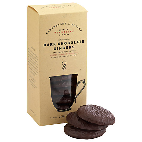 Buy Cartwright & Butler Dark Chocolate Gingers, 200g Online at johnlewis.com