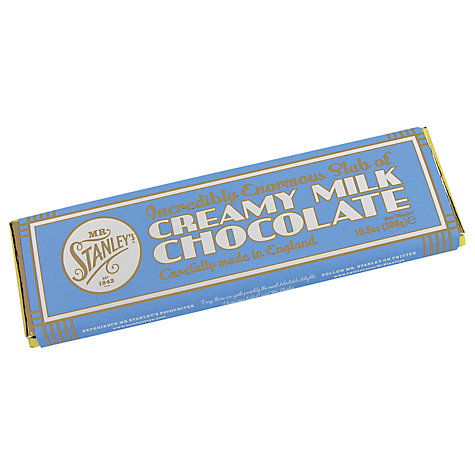 Buy Mr Stanley's Giant Milk Chocolate Bar, 300g Online at johnlewis.com