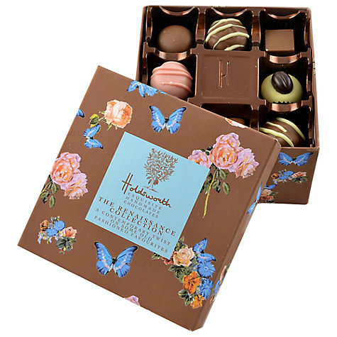 Buy Holdsworth The Renaissance Chocolates Collection Box, 220g Online at johnlewis.com