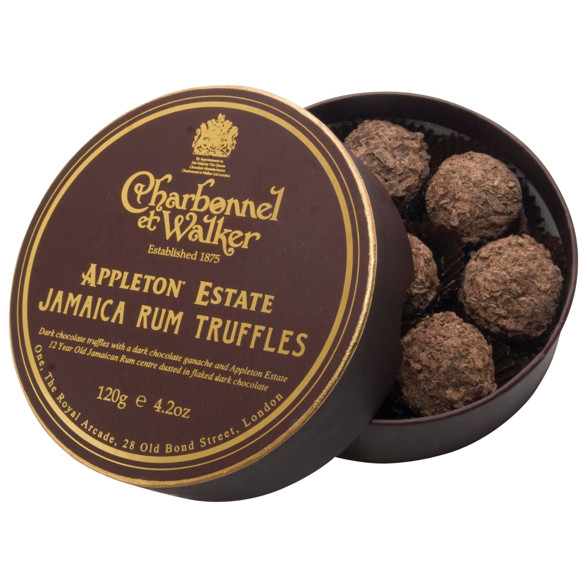Charbonnel Et Walker Appleton Estate Rum Truffles, 120g