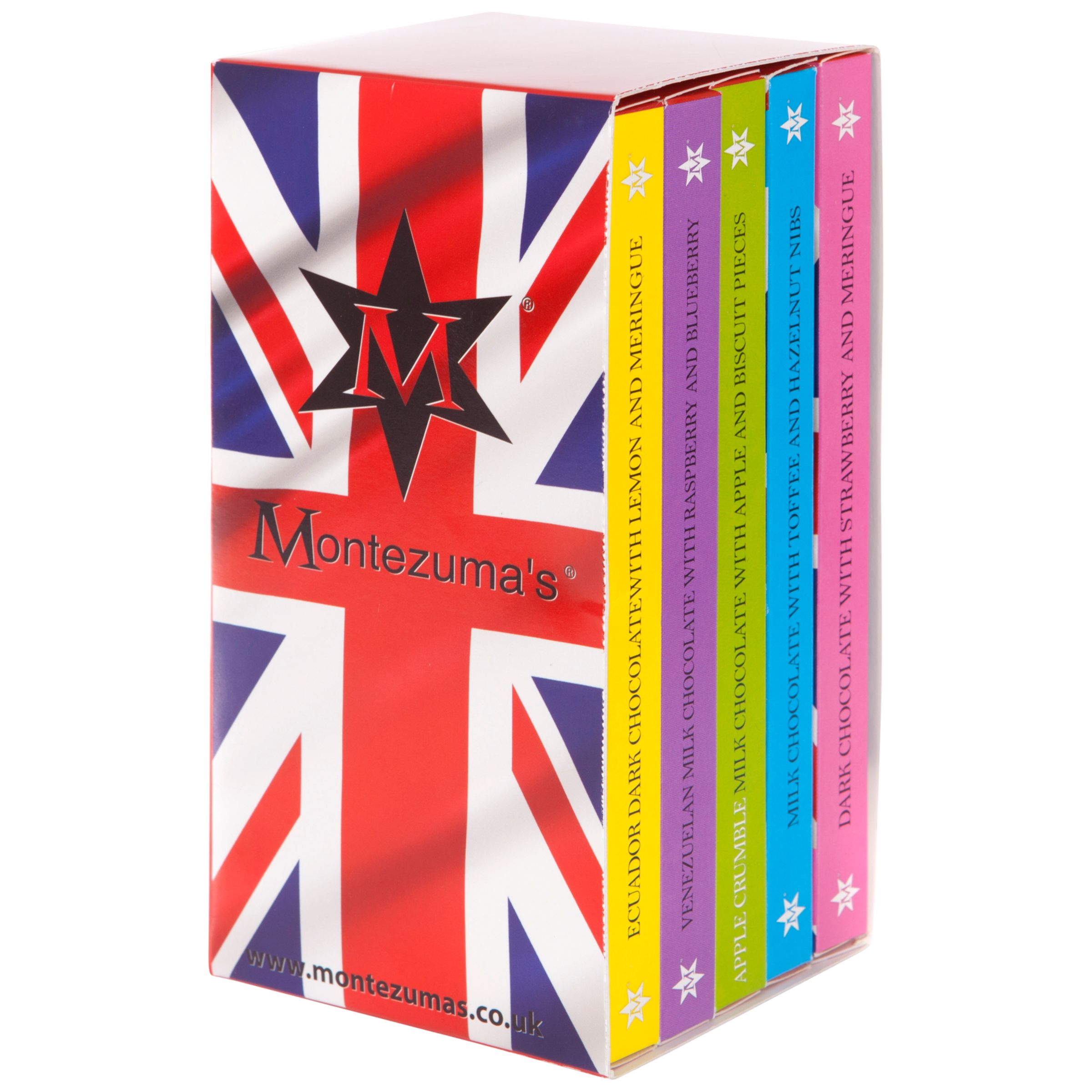 Montezuma's Montezuma's British Pudding Chocolate Bar Library, 500g